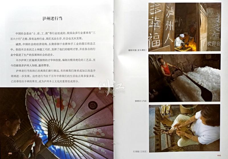龙周富著《二十一世纪初叶的凝望——镜头中的泸州》印制完成(图4)